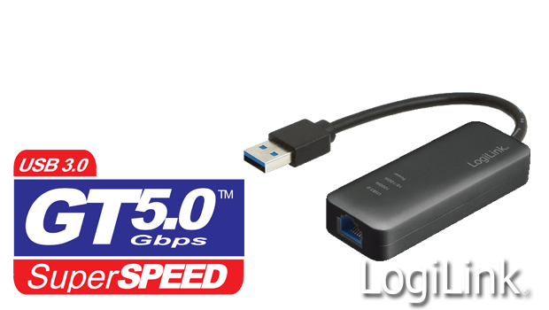 LogiLink USB3.0 Gigabit Ethernet Adaptörü