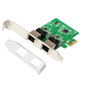 M-TECH MTBK0075 2 Port Gigabit LAN PCI Express Kart