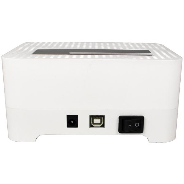 USB2.0 SATA HDD Docking Station, Gümüş