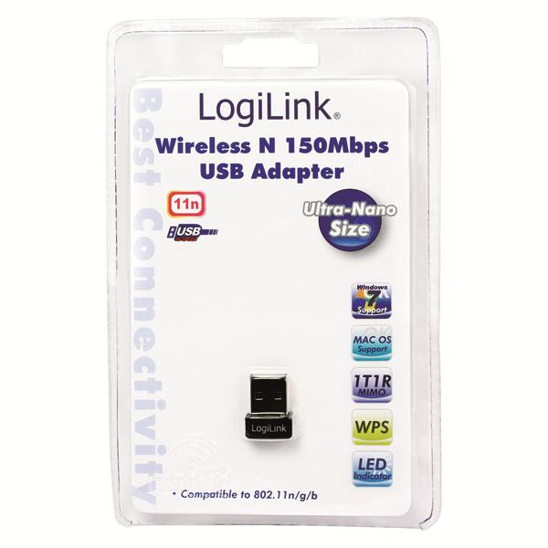 Wireless-N 150Mbps Nano USB Adaptör