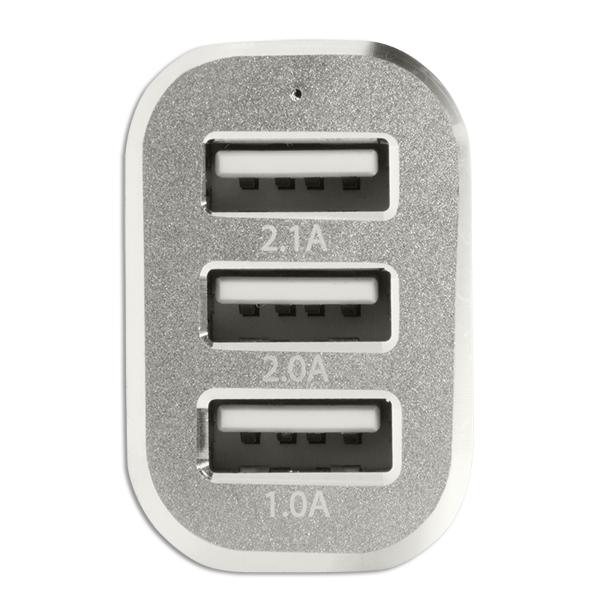 3 Port USB Mini Araç Şarjı, 5100mA