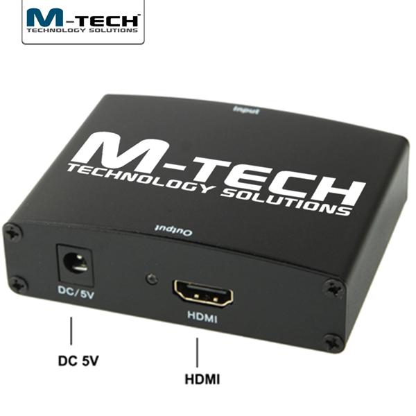 VGA - HDMI Çevirici, Ses Destekli, 1080P