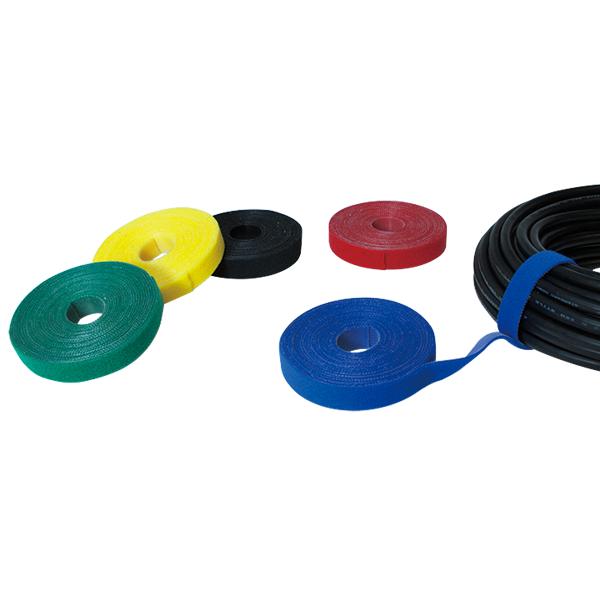 Cırt Cırt Kablo Bağı, 16mm x 4m, Siyah