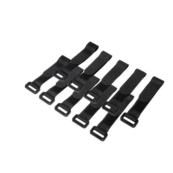 10 lu Cırt Cırt Kablo Bağı, Siyah, 15cm