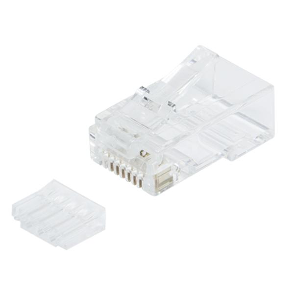 100 lü CAT6 UTP Konnektör, Modular Plug, Korumasız