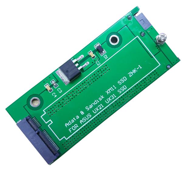 Asus UX31 UX21 Zenbook için XM11 SSD to SATA Dönüştürücü Adaptör