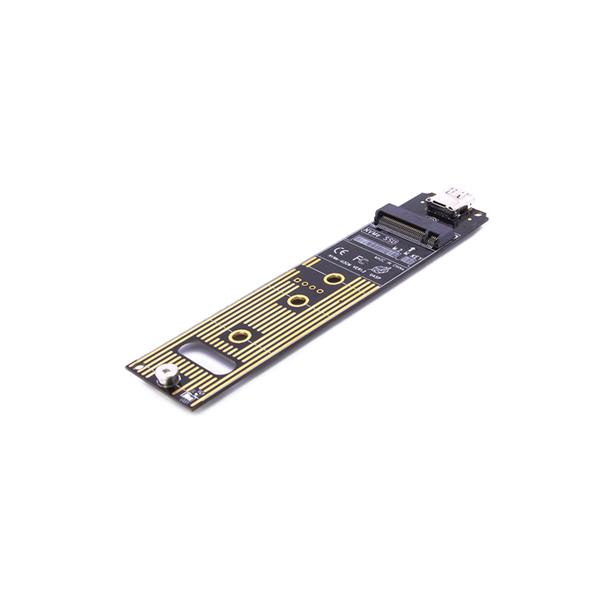 USB3.1 M.2 NVME için Harici SSD Disk Kutusu, Siyah