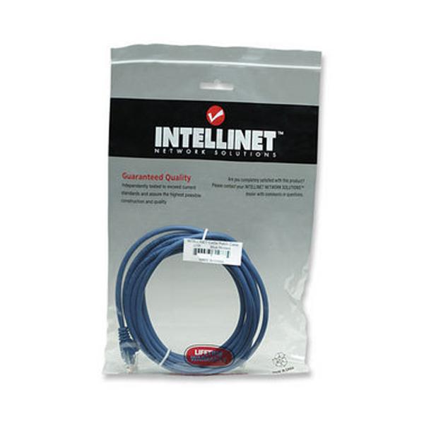 Network Kablosu, Cat6, UTP, Mavi, 5.0m