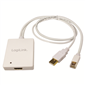 LogiLink CV0041 Mini DisplayPort + USB Audio to HDMI Adaptör