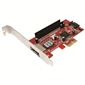LogiLink PC0002 PCI Express Kart, 1 x eSATA Port + 1 x Internal SATA Port + 1 x ATA133 Port