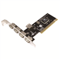 LogiLink PC0028 4 + 1 Port USB2.0 PCI Kart, VIA Chip