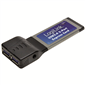 LogiLink PC0055 2 Port USB3.0 PCMCIA Express Kart