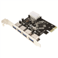 LogiLink PC0057 4 Port USB3.0 PCI-Express Kart
