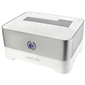 LogiLink QP0016 USB3.0 Super Speed SATA HDD Docking Station, Gümüş - Beyaz