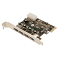 LogiLink PC0057A 4 Port USB3.0 PCI-Express Kart