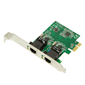 LogiLink PC0075 2 Port Gigabit LAN PCI Express Kart