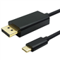 M-TECH MUCCD0055 USB Type-C to DisplayPort Kablo, 1.8m