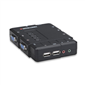 Intellinet 157032 4 Port Kompakt KVM Switch, USB